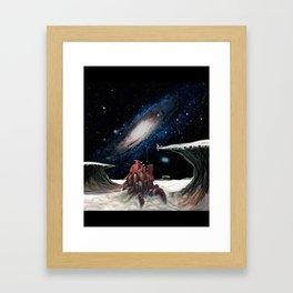 Fishing Framed Art Print