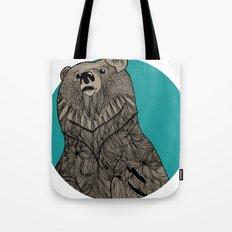 Beary Sketch Tote Bag