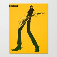hero Canvas Prints featuring Hero by GZUS