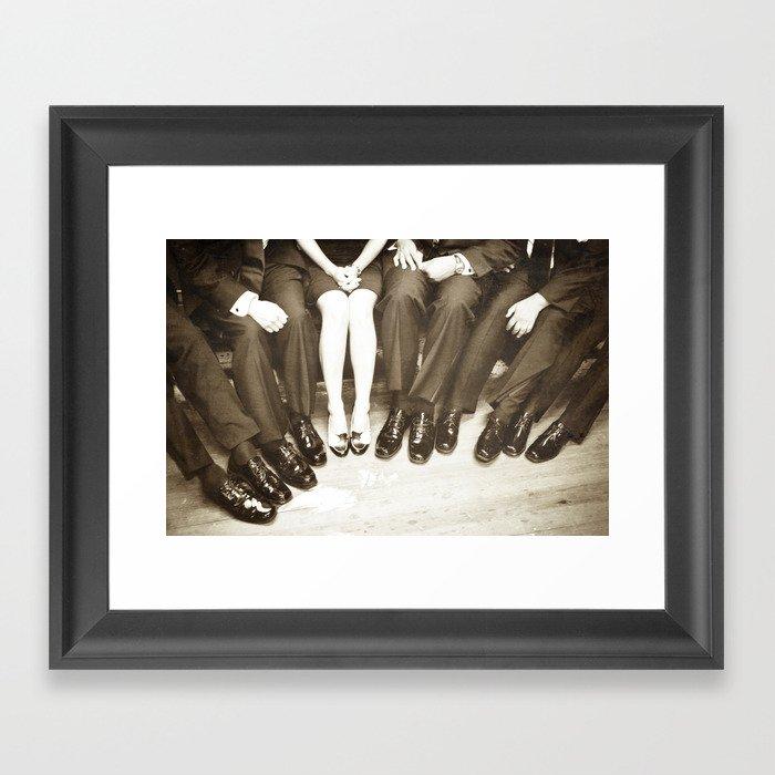 The Groomswoman Framed Art Print