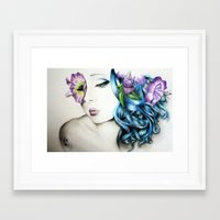 perfume Framed Art Prints featuring Perfume  by KhalilKhalidy