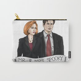 MR& MRS SPOOKY Carry-All Pouch