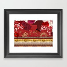 Do you have something in red? Framed Art Print