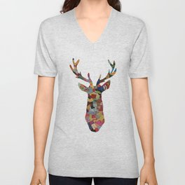 The Stag Unisex V-Neck