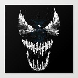 Venom city Canvas Print
