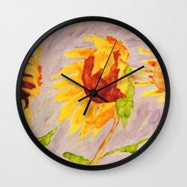 Sunflowers | Tournesols Wall Clock