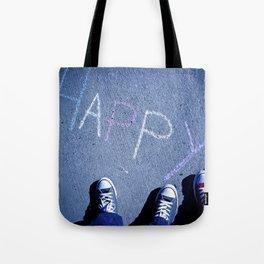 H A P P Y Tote Bag