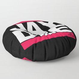JAY DEE aka JDILLA (RUNDMC tribute) Floor Pillow