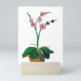 The Blooming Orchid Mini Art Print