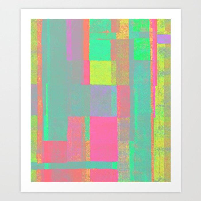 Happy Layers Art Print