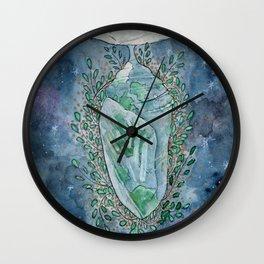 A World in Progress Wall Clock