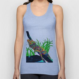 Colorful Lizard Unisex Tank Top