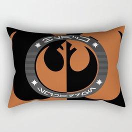 Black Squadron (Resistance) Rectangular Pillow