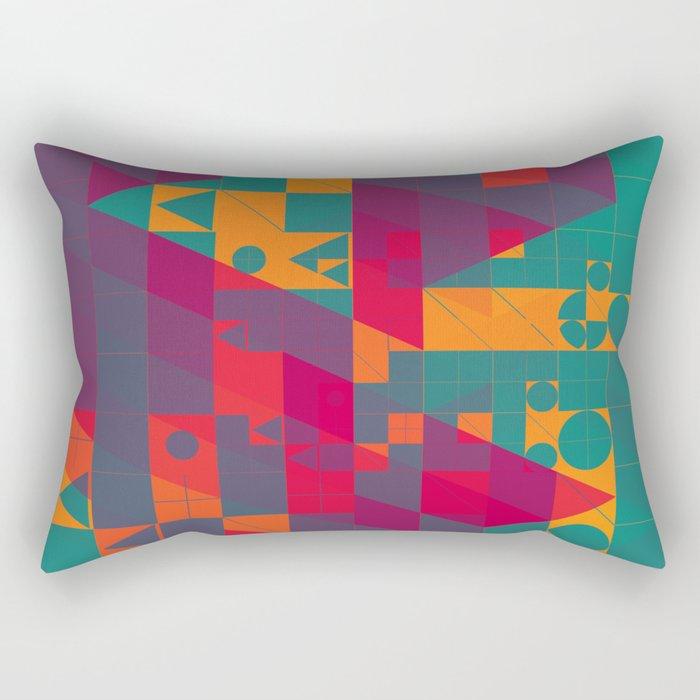 twyxt flyt Rectangular Pillow