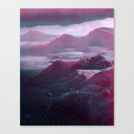 mønøglitchic_07 Canvas Print