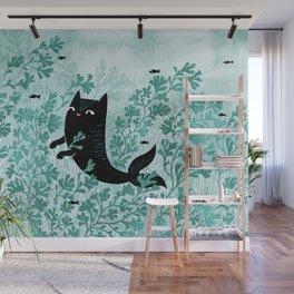 Undersea (Mint Remix) Wall Mural
