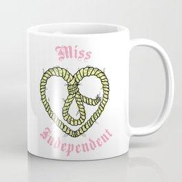 Miss Independant Coffee Mug