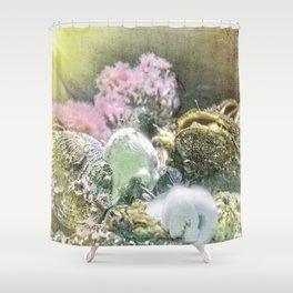 Finders Keepers - Ocean Treasures Shower Curtain