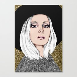 Siri Canvas Print