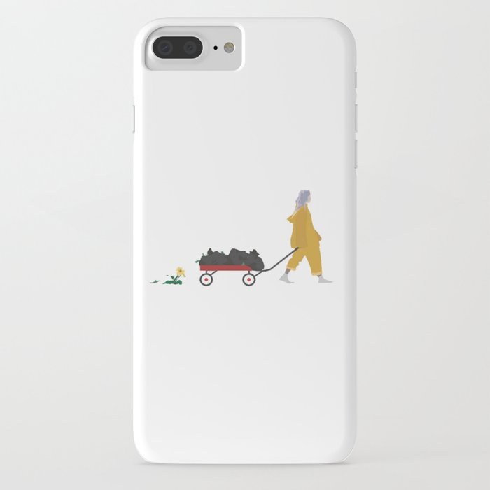 billie eilish bellyache iphone case