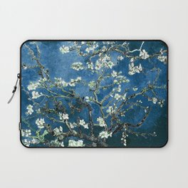 Van Gogh Almond Blossoms : Ocean Blue Laptop Sleeve