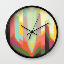 line abstract Wall Clock