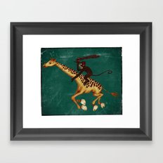 Run Through the Jungle Framed Art Print