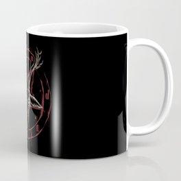 Reindeer Pentagram - Satanic Christmas Coffee Mug