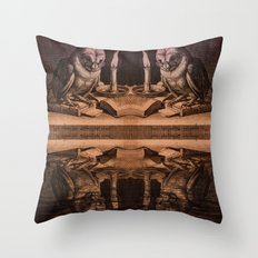 Wise Owls Throw Pillow