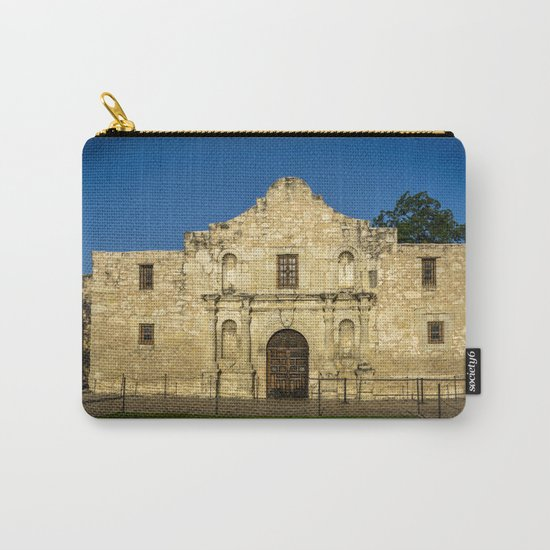 Empty Alamo Carry-All Pouch
