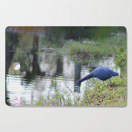 Little Blue Heron Cutting Board