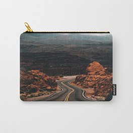 Road to Valley of Fire Carry-All Pouch