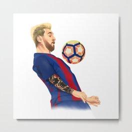 Messi Great Metal Print