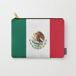 Flag of mexico- mexico,mexico city,mexicano,mexicana,latine,peso,spain,Guadalajara,Monterrey Carry-All Pouch