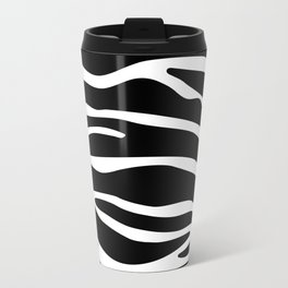 Classy Zebra print Travel Mug