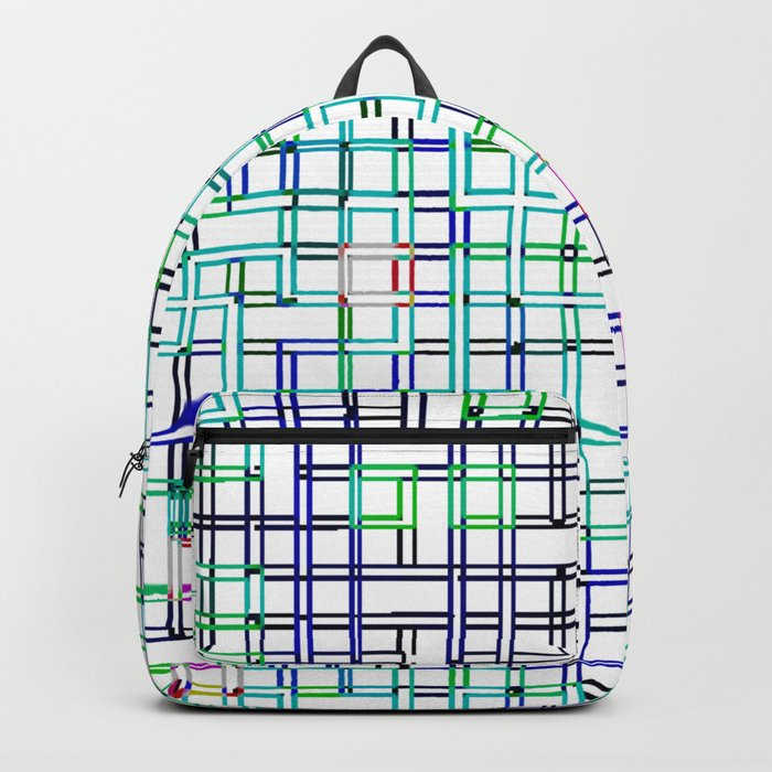 lines colors mystery relaxation in mystery Backpack