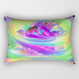 Color Storm Rectangular Pillow