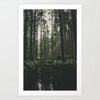 Faded Forest Art Print