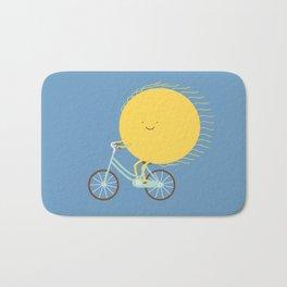 cycle of the sun Bath Mat