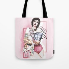 Flowers are always in fashion Tote Bag