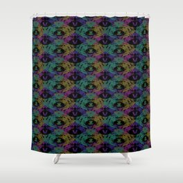 Poison Frog Shower Curtain