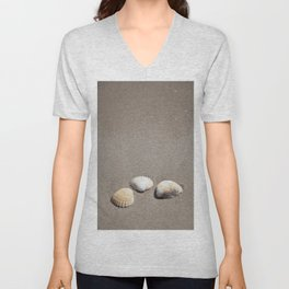 Three Seashells Unisex V-Neck