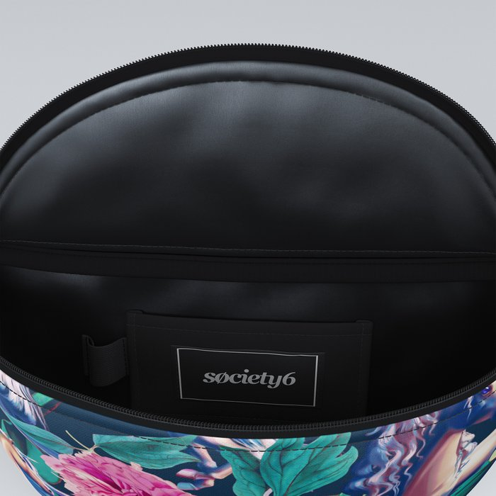 Unicorn and Floral Pattern Fanny Pack