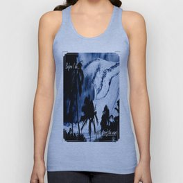 I want to surf the wave Unisex Tank Top