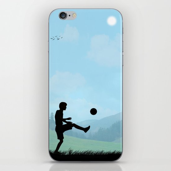 Childhood Dreams, Soccer iPhone & iPod Skin