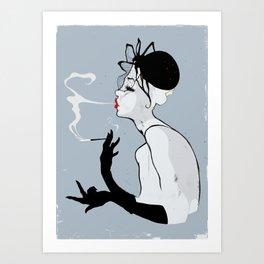 La femme fatale  Art Print