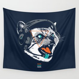 Stereocat Wall Tapestry