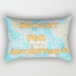 Hungry for adventure Rectangular Pillow