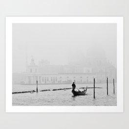 White Venice Art Print