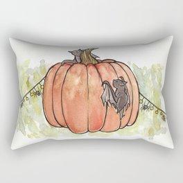 Baby Bats at the Pumpkin Patch Rectangular Pillow